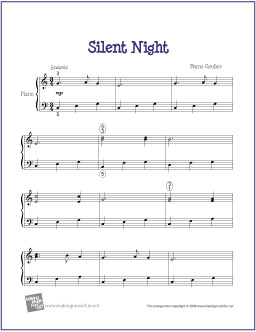 silent-night-piano-solo