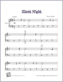 silent-night-piano-solo