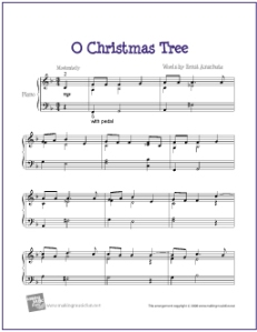 o-christmas-tree-piano-solo