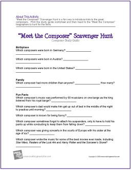 composer-scavenger-hunt-worksheet