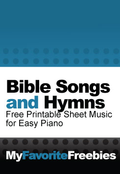 photo about Printable Hymns Sheet Music known as Totally free Bible Audio and Hymns Printable Piano Sheet Tunes