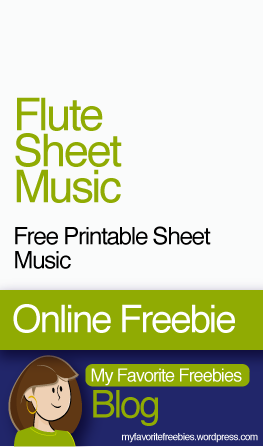 graphic about Free Printable Flute Sheet Music known as Absolutely free Flute Songs Printable Sheet Tunes My Preferred Freebies