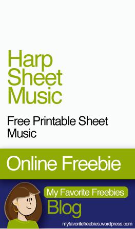 harp-free-sheet-music