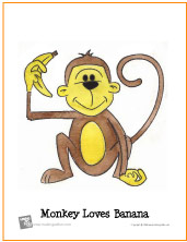 watercolor-monkey-loves-banana-small