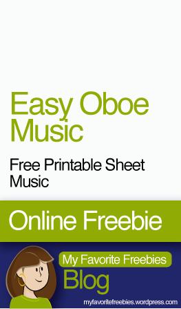 free-sheet-music-oboe