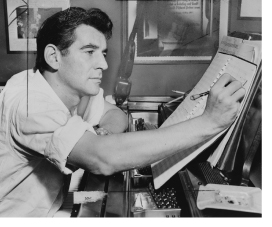 a biography of leonard bernstein an american composer Leonard bernstein was an influential american composer and pianist, and a  famous conductor of the new york philharmonic orchestra in this lesson.