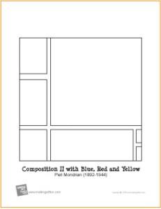 mondrian-coloring-page