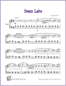 swan-lake-intermediate-piano