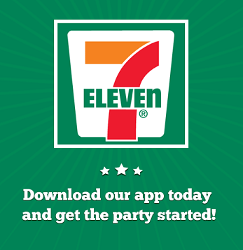 7 11 app - Freebies