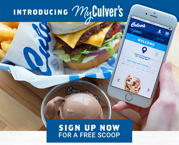 Culvers Free Scoop of Ice Cream