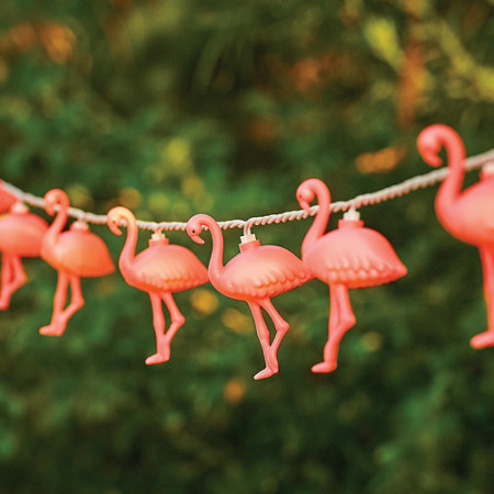 Free Flamingo Light String