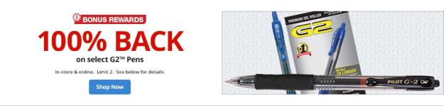 Free Pens from OfficeMax